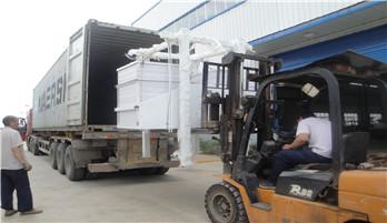 мукомольные мельницы для пшеницы была отправленна в Эфиопию